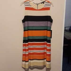 NWT Tiana B multi-color dress, large petite